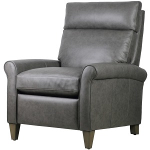 Eddi Push Back Recliner - Milestone Smoke