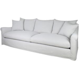"""Celeste Slipcover 104"""" Sofa - Slipcover Twill Linen"""