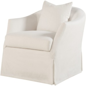 Amy Slipcover Swivel Glider Chair - Plain Ore