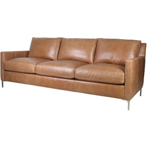 Turner Sofa - Ice Burg Cognac