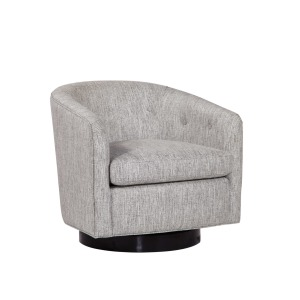 Faye Swivel Chair - Power Ash