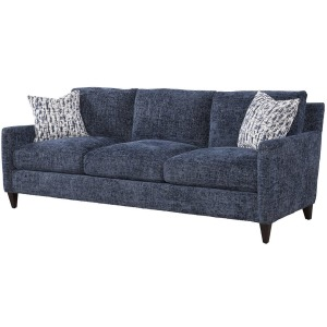 Riverside Sofa - Norse Lake w/Joplin Indigo Pillows
