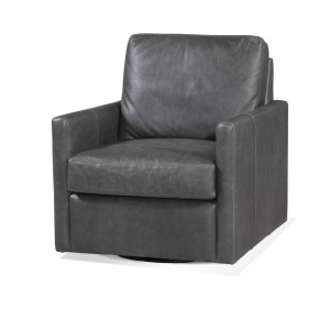 Newton Swivel Chair - Trends Aged Black