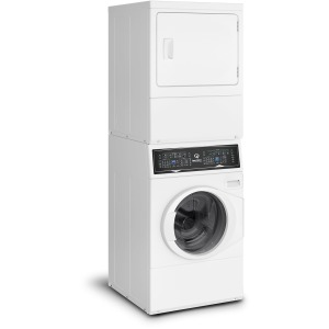 Stacked Washer Dryer SF7 - White / Electric