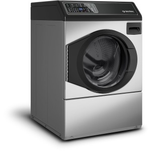 Front Load Washer - FF7 Stainless Steel / Black