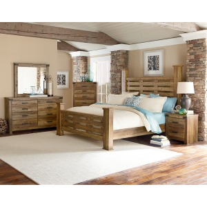 52450 Montana Poster Bed