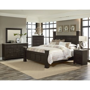 69350 Stonehill Dark Poster Bed