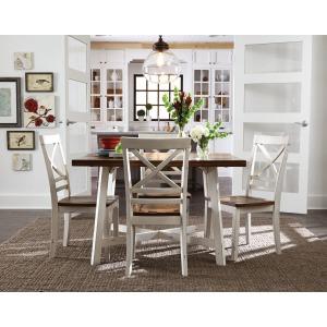 Amelia Leg table W/ 4 Chairs