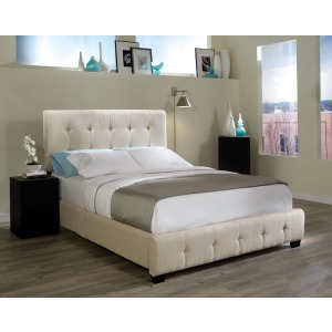 55650 Madison Square fabric bed