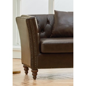 Westerly UPH Dark Chair W/ Pillow