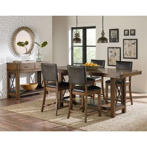 Benson Counter Height Trestle Table