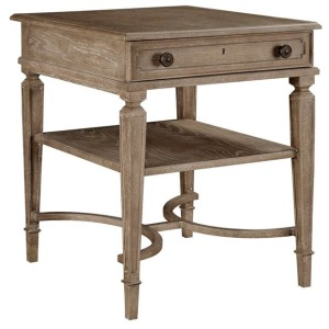Wethersfield Estate-End Table (Brimfield Oak)