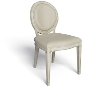 Hillside Oval Side Chair - Feather