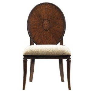 AvalonHeights Wood Back Side Chair
