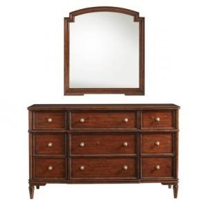 Vintage Dresser & Mirror