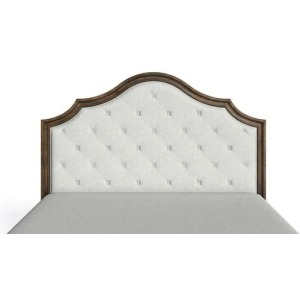 Thoroughbred Manor Upholstered King Headboard - Toast