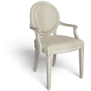 Hillside Oval Arm Chair - Feather