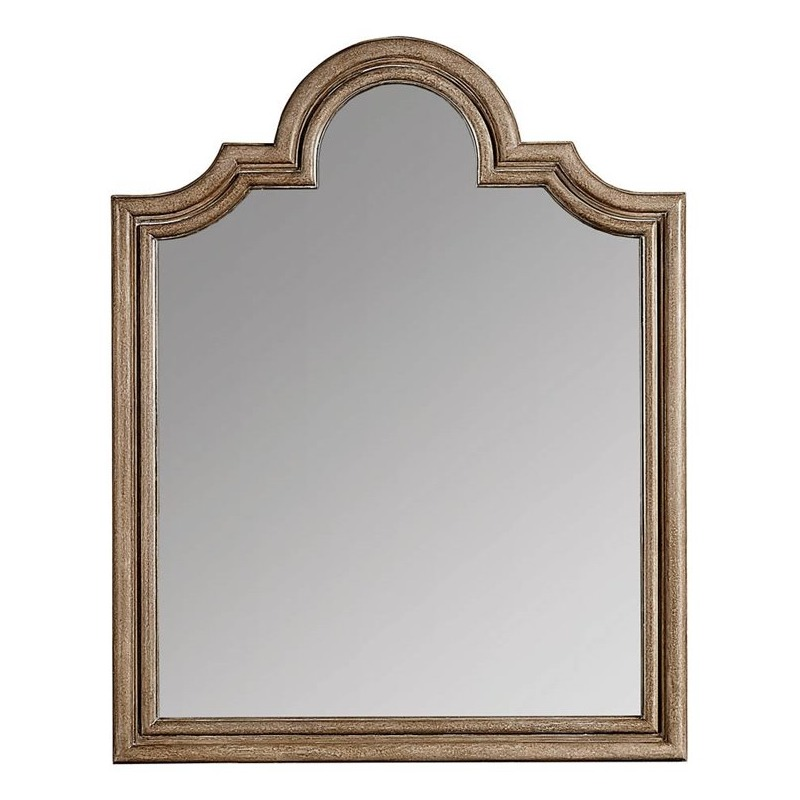 Wethersfield Estate Mirror in Brimfield Oak
