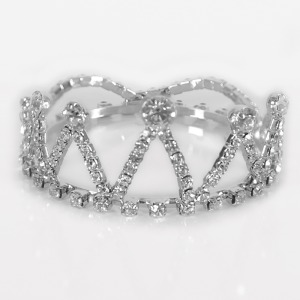 Newborn Mini Crystal Crown