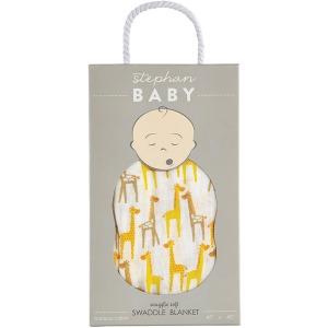 Giraffe Bamboo Swaddle Blanket