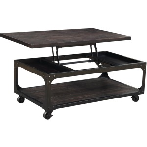 Sherlock Lift Top Cocktail Table w/Casters