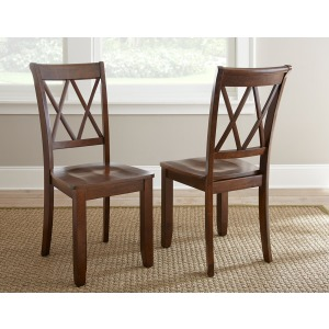 Aida Side Chair, Brown