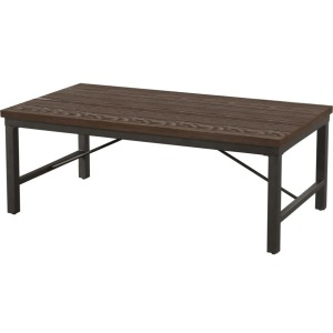 Jersey Cocktail Table w/Iron Base