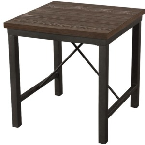 Jersey End Table w/Iron Base