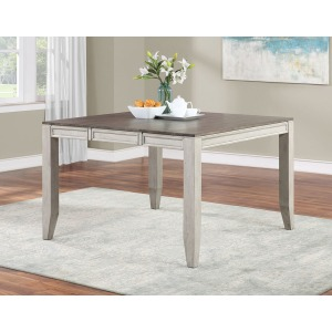 Abacus 54-inch w/18-inch Butterfly Leaf Counter Table