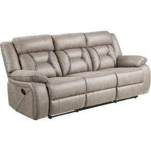 Tyson Recliner Sofa w/Drop Down Center & Power Strip