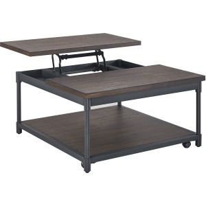 Prescott Lift-Top Cocktail Table w/Casters
