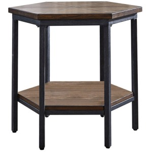 Ultimo Hexagon End Table