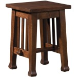 Roycroft Tabouret Table - Oak