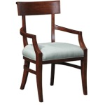 Uph Back Fleming Arm Chair