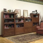 Three High Barrister Bookcase