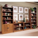Tall Bookcase w/Doors