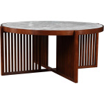 Park Slope Round Cocktail Table - Cherry