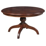 Grooved Top Naples Table 54 (Round)