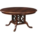 Grooved Top Geneva Table 60 (Round)