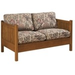 Loose Cushion Spindle Loveseat