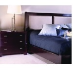 Low Post Bed w/Uph Panels King