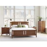Pasadena King Sleigh Bed w/Mid Footboard