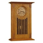 Wedding Mantel Clock