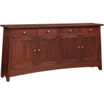 Highlands Entertainment Console - Cherry