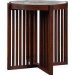 Park Slope Round End Table - Oak
