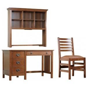 Computer Desk, Hutch & Chair Set