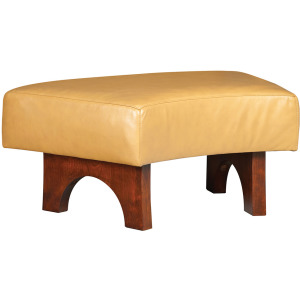 High Line Curved Ottoman