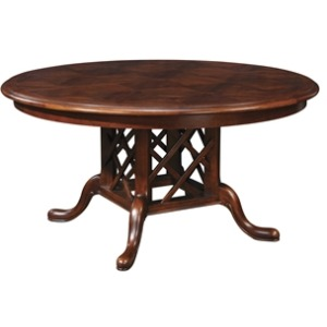Parquet Top Geneva Table 60 (Round)