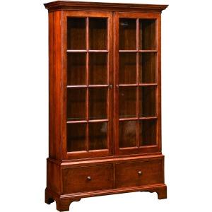 Auburn Wood Back Bookcase