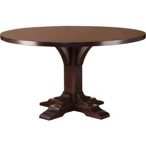 """54"""" Wood Top Bristol Dining Table - Maple"""